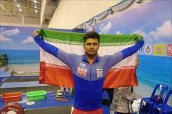 مدال برنز دو ضرب  موسوی در وزنه برداری قهرمانی جهان