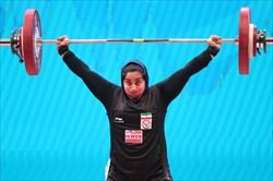 جهانفکریان نفر ششم مسابقات وزنهبرداری زنان جهان