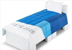 خواب آرام ورزشکاران المپیکی با تشک های فوق سبک ژاپنی