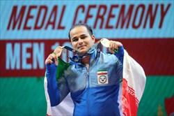 دهدار اولین طلایی وزنهبرداری ایران در رقابتهای قهرمانی جهان