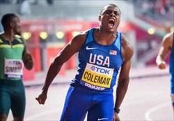 کلمن قهرمان دوی 100 متر جهان شد