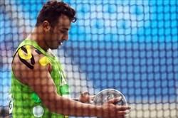 حدادی در فینال مسابقات قهرمانی دوومیدانی جهان