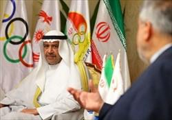 قول همکاری شیخ احمد از ورزش ایران