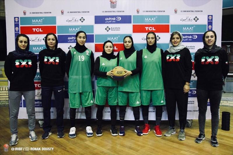 باخت تیم بسکتبال سه نفره دختران  ایران در اولین دیدار جام جهانی