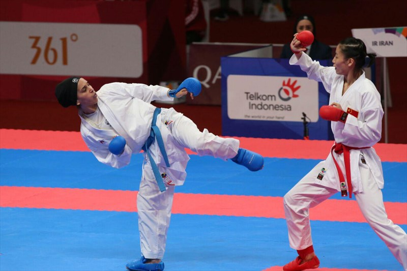 قهرمانی ایران در ششمین مرحله لیگ برتر کاراته وان 2019