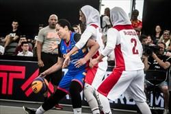 صعود بسکتبال سه نفره دختران ایران به جایگاه هفتم دنیا