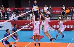 چهارمین برد ایران در جام جهانی والیبال