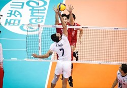 باخت تیم ملی والیبال ایران مقابل ژاپن