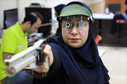 تیم میکس پاراتپانچه ایران در جایگاه چهارم جهان ایستاد
