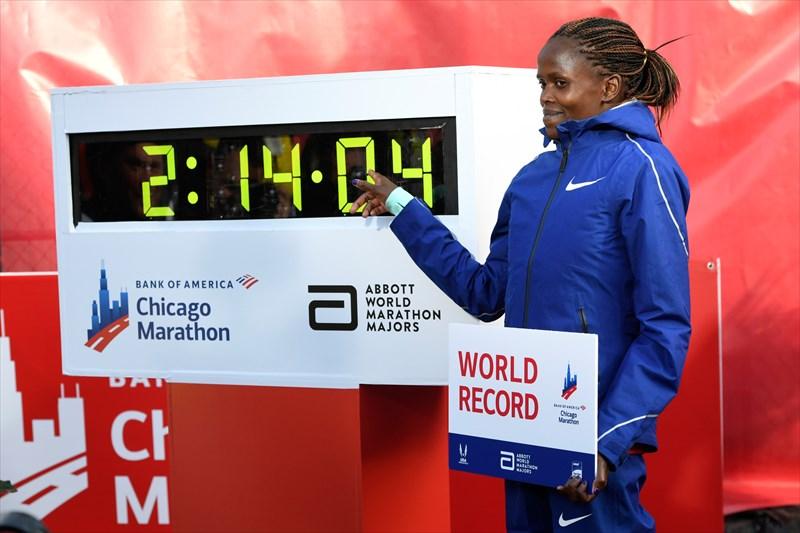 رکوردشکنی مجدد دوندگان کنیایی در ماراتن