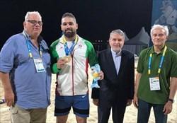 رحمانی نخستین طلایی ایران در کشتی/ تمجید لالوویچ از کشتی های رحمانی