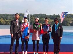 دو  طلا و دو برنز پاروزنان ایران در روئینگ قهرمانی آسیا