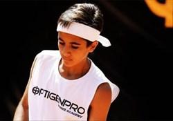 رحمانی در رده دوم رنکینگ تنیس زیر 14 سال آسیا