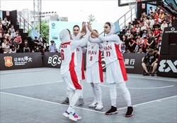 شانس المپیکی شدن دختران بسکتبال سه نفره ایران