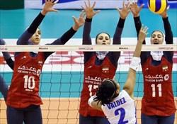 گروهبندی مسابقات والیبال انتخابی المپیک بانوان آسیا مشخص شد