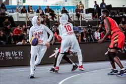 بسکتبال سه نفره زنان در بن بست ردهبندی فیبا