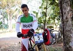 دوچرخه سوار ایرانی در صدر  رنکینگ آسیا