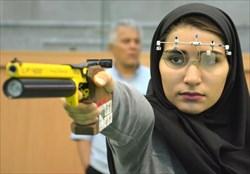 سومین بانوی ایران المپیکی شد