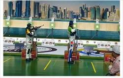 تیم میکس تفنگ بادی کشورمان چهارم آسیا شد
