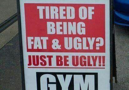 از اینکه هم زشت و هم چاق هستید خسته شده اید؟  فقط زشت باشید!