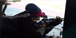 تیم تفنگ درازکش بانوان از رسیدن به مدال بازماند