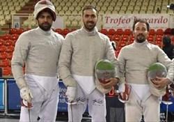 حذف سابریست های ایران در مرحله انفرادی جام جهانی