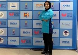 شیروانی، پنجمین داور بلوبج ایرانی تنیس روی میز