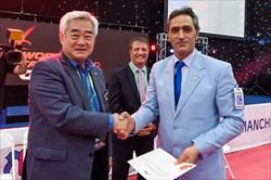 تمدید حکم نایب رییسی مهدوی در کمیته داوران اتحادیه تکواندو آسیا