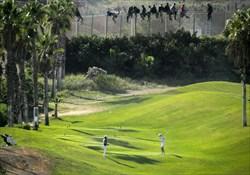 عکسی از مرز بین اسپانیا و مراکش