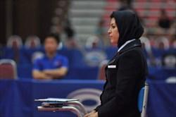 حضور داور تنیس روی میز ایران در رقابتهای انتخابی المپیک