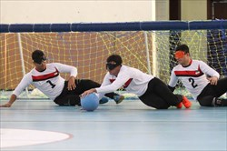 صعود ایران به فینال گلبال قهرمانی آسیا