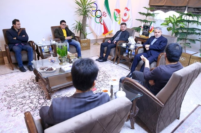 برگزاری نشست هماهنگی المپیک توکیو بین مسئولین کمیته ملی المپیک و فدراسیون کشتی