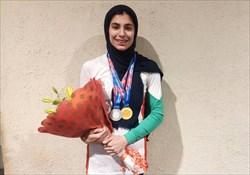 سنگورد نوجوان ایرانی در «سرعت»  هم طلایی شد