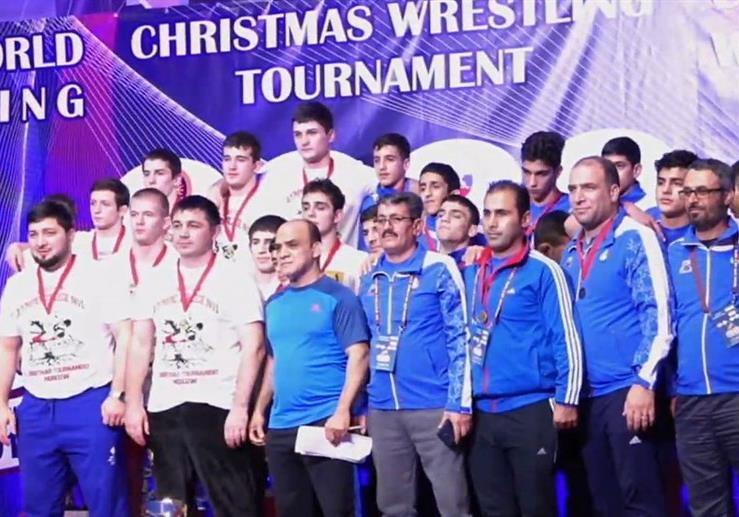 آزادکاران ایران با  3 مدال طلا، یک نقره و 3 برنز بر سکوی دوم ایستادند