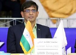 کومار نماینده اتحادیه جهانی در مسابقات شد