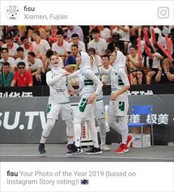 تصویر بسکتبال بانوان ایران، بهترین عکس سال 2019 فیزو