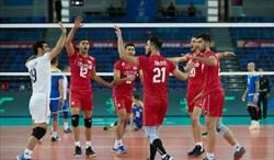 پیروزی والیبالیست های ایران بر قزاقستان با ترکیبی متفاوت