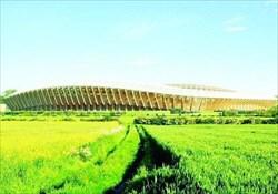 بزرگترین استادیوم چوبی جهان ساخته میشود