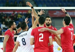 ملی پوشان والیبال کشورمان المپیکی شدند