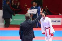 رزیتا علیپور به یک قدمی کسب سهمیه رسید