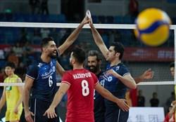 حریفان والیبال ایران در المپیک مشخص شدند