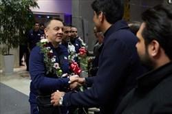 تیمهای ملی والیبال وارد تهران شدند