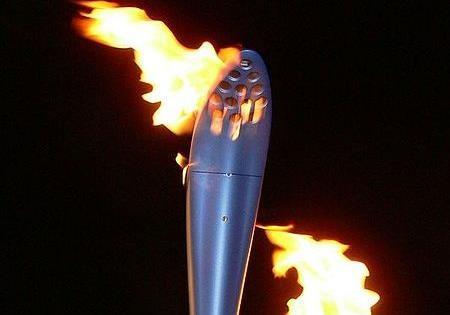 حمل مشعل المپیک از میان رادیواکتیو