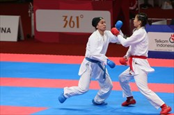 کاراته کاهای ایران  چهارشنبه راهي پاريس مي شوند