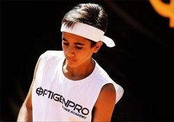 کسری رحمانی  معتبرترین مسابقات تنیس دنیا را تجربه می کند