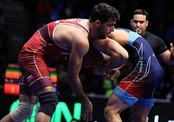 ایران  قهرمان کشتی فرنگی جام تختی شد