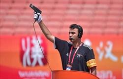 دعوت از  شهبازی به عنوان  سر استارتر مسابقات دوومیدانی قهرمانی  آسیا