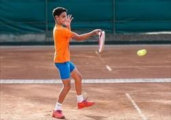 مصاف تنیسور نوجوان ایران با نماینده فرانسه