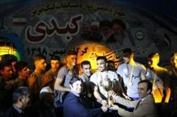 پابان لیگ برتر کبدی با قهرمانی سرخنکلاته و نائب قهرمانی رعد پدافند هوایی