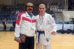 شاگرد عبدلي مدال برنز  کاراته قهرماني اروپا را كسب كرد